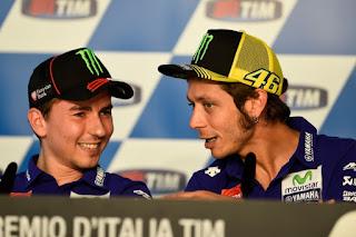 Jelang MotoGP 2017: Rossi Antusias, Lorenzo Sedih