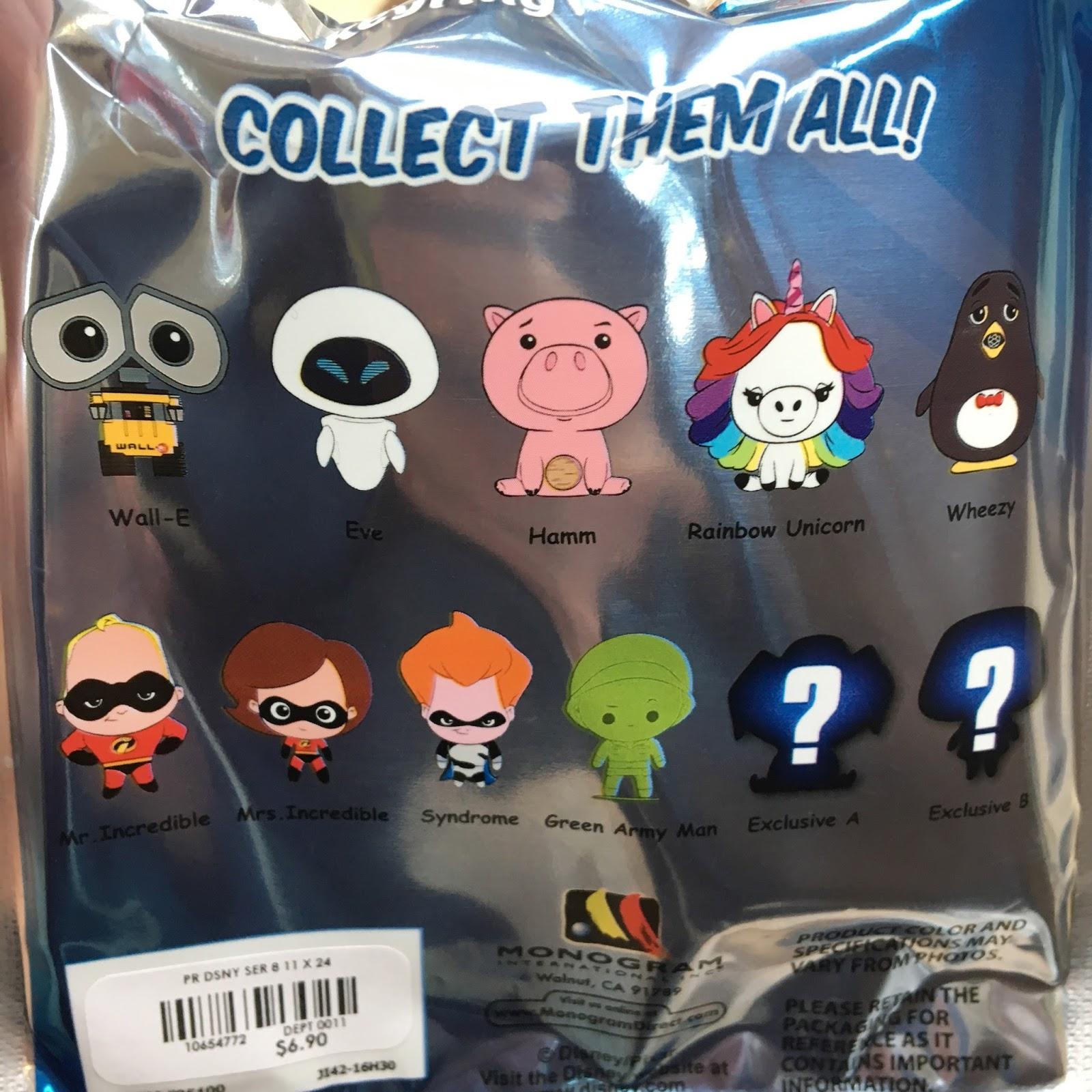 disney figural keyrings series 8 pixar