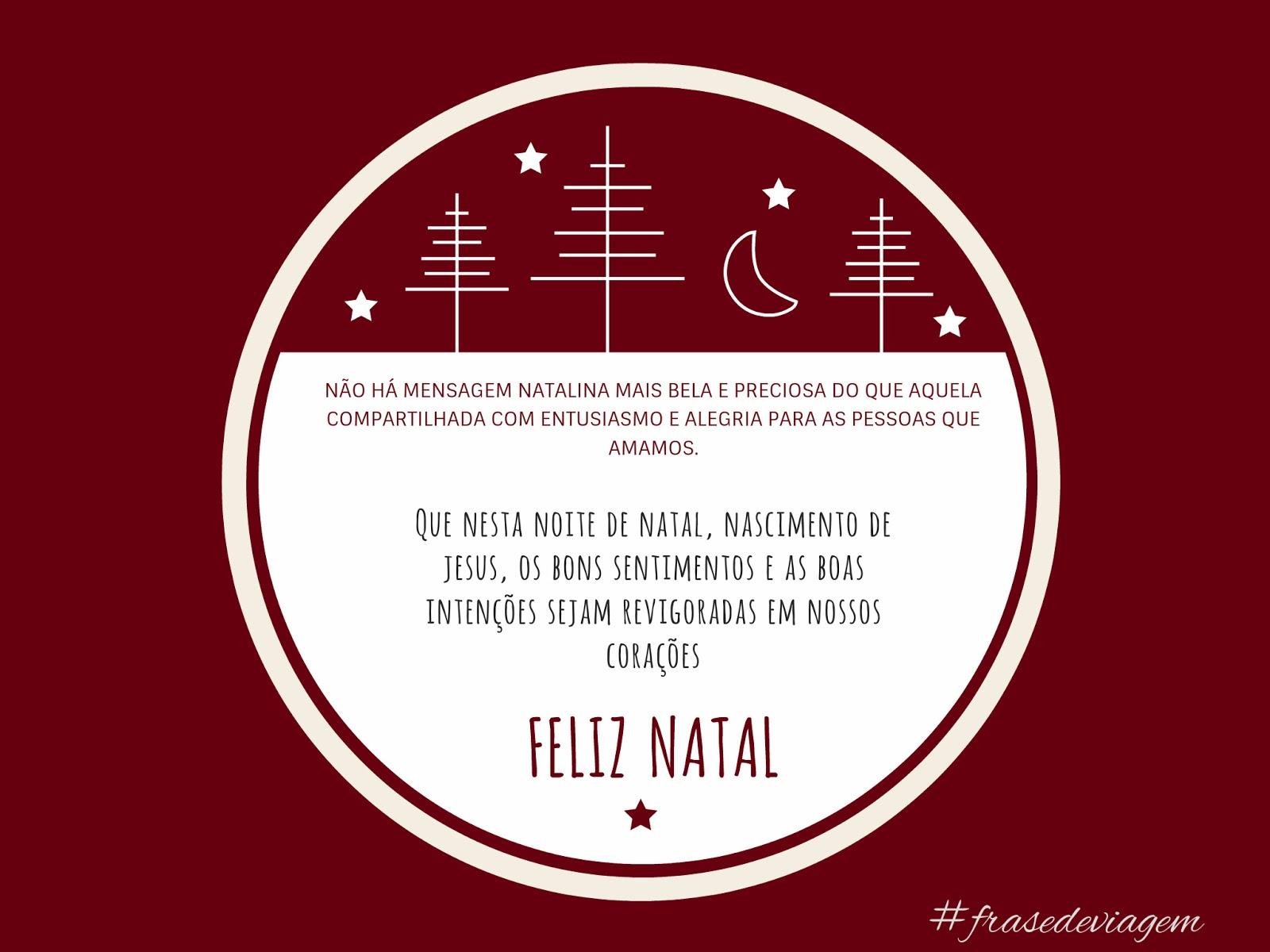 Frase De Viagem Frase De Viagem Mensagem De Natal