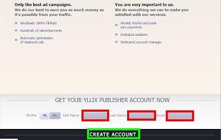 Cara Daftar Dan Pasang Iklan CPM Yllix Di Blog