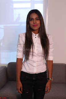 Nia Sharma at an itnerview for For Web Series Twisted 09.JPG