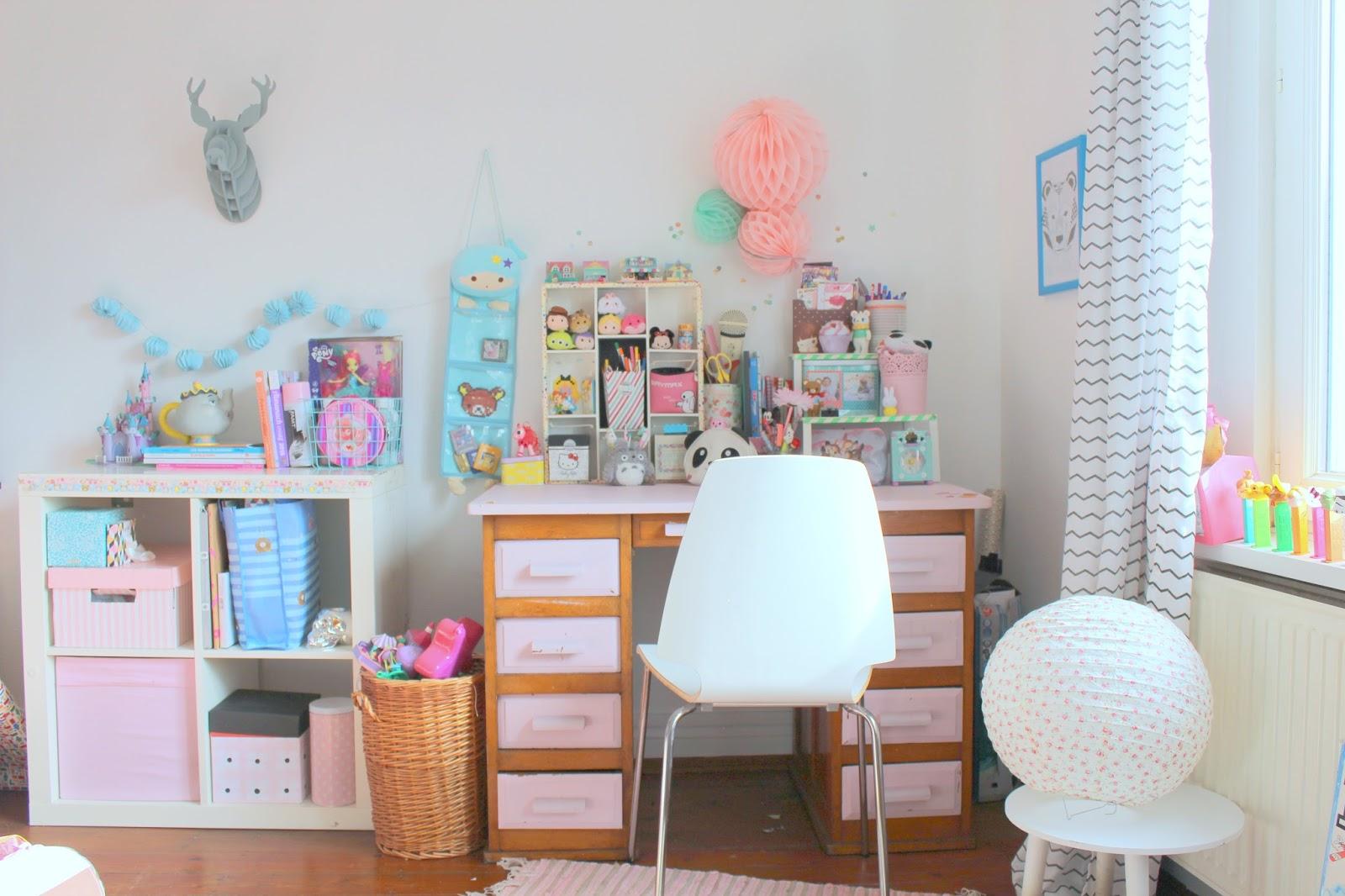 Mon bureau Pastel et Kawaii