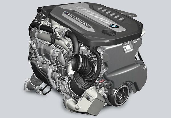 motor diésel BMW con cuatro turbos