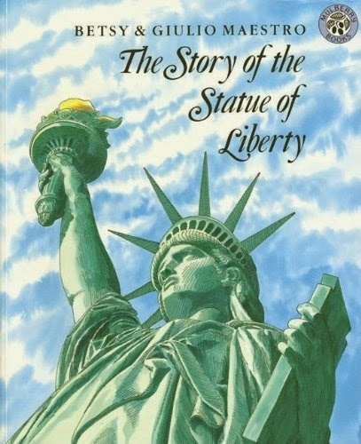 The Story of the Statue of Liberty, part of book review list about the United States