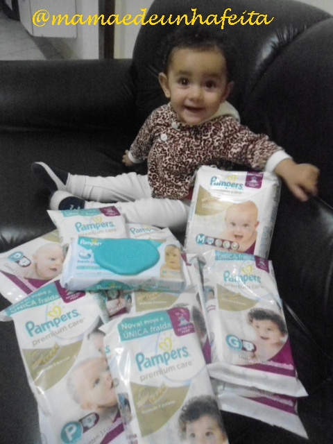 Fralda Pampers Premium Care - Resenha