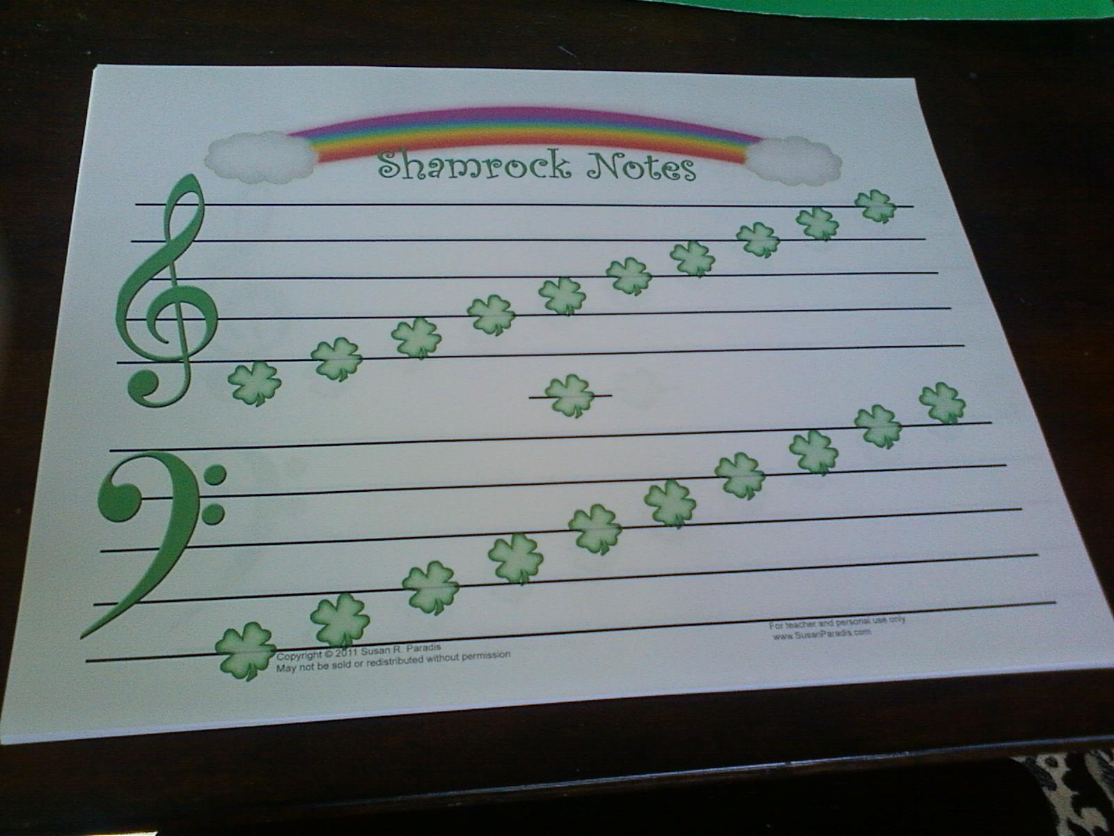 Hansen Music Studio St Patrick S Day Group Piano Lesson