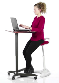 Vivo Office Stool for Stand Up Operating
