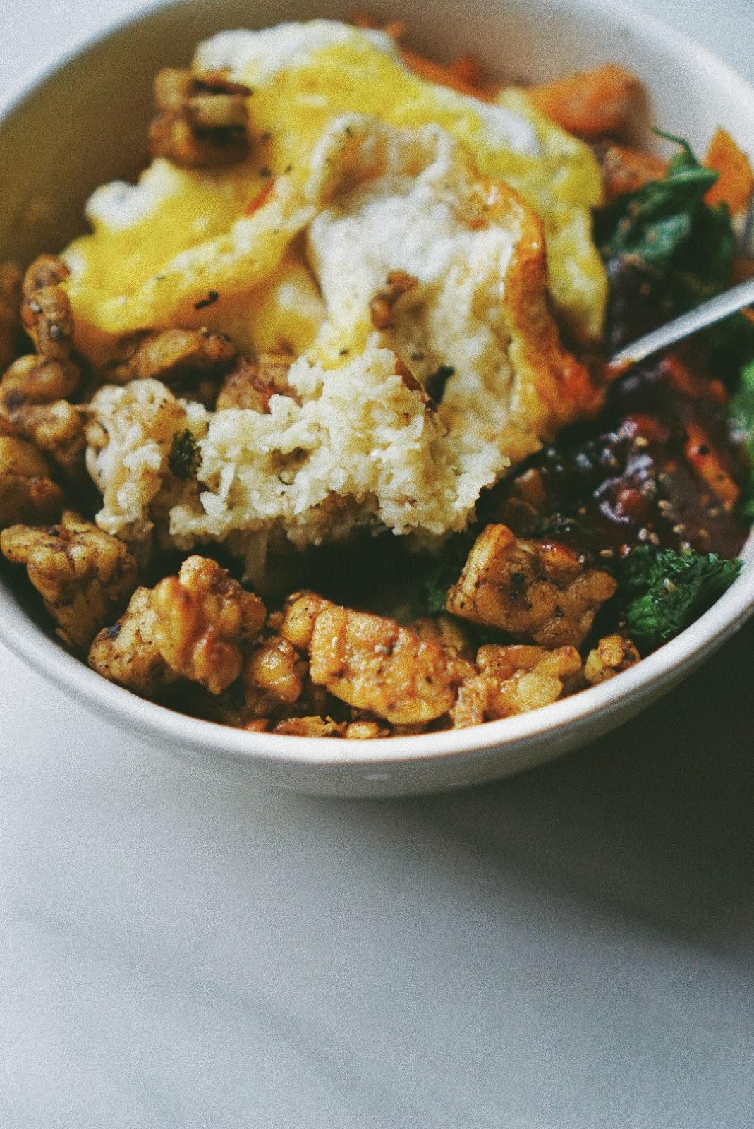 Resep Bibimbab with Cauliflower Rice
