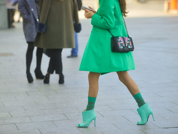 How To Team Up Ankle Boots With Dresses
