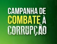 Cartaz da Campanha da OAB contra a corrupção