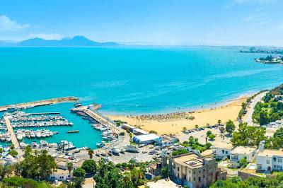 :السياحة بالبلاد التونسيةشواطيء قرطاج الساحرة