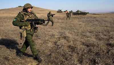 Latihan Berat Pasukan Khusus Rusia