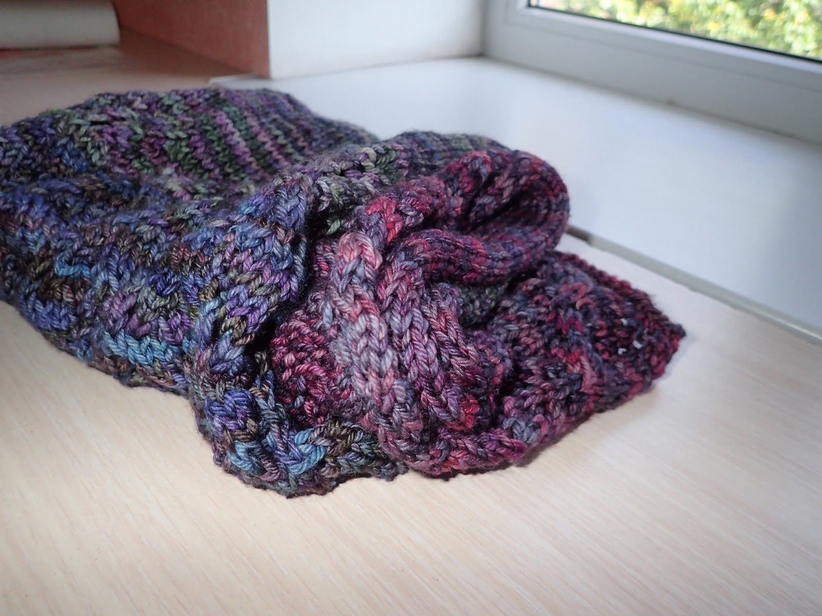 begonia sews: Lovely Leaf Lace Scarf by Purl Soho