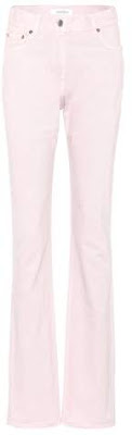image result Valentino High-waisted slim-straight jeans