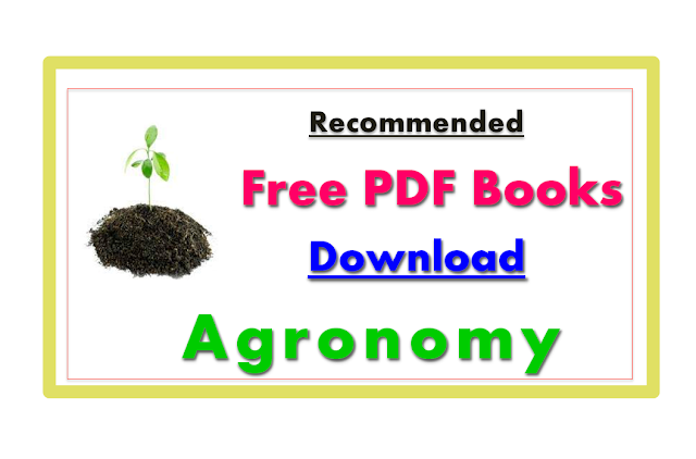 Agriculture Pdf Books