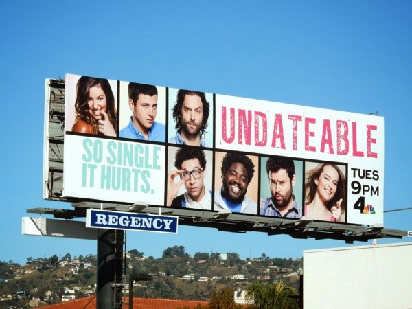 Undateable So single it hurts season 2 billboard