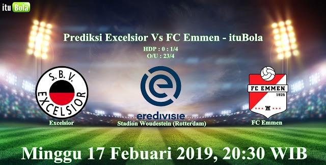 Prediksi Excelsior Vs FC Emmen - ituBola