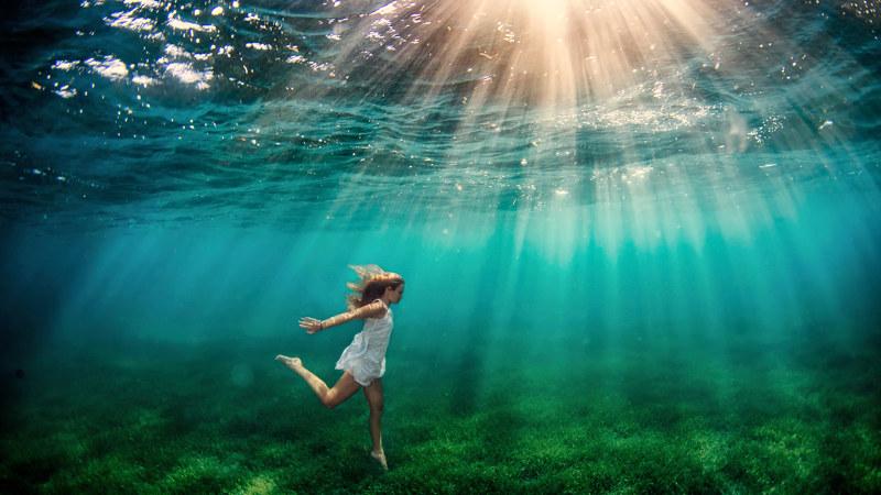 víz és fény