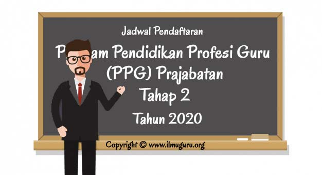 Pendaftaran PPG Prajabatan Tahap 2