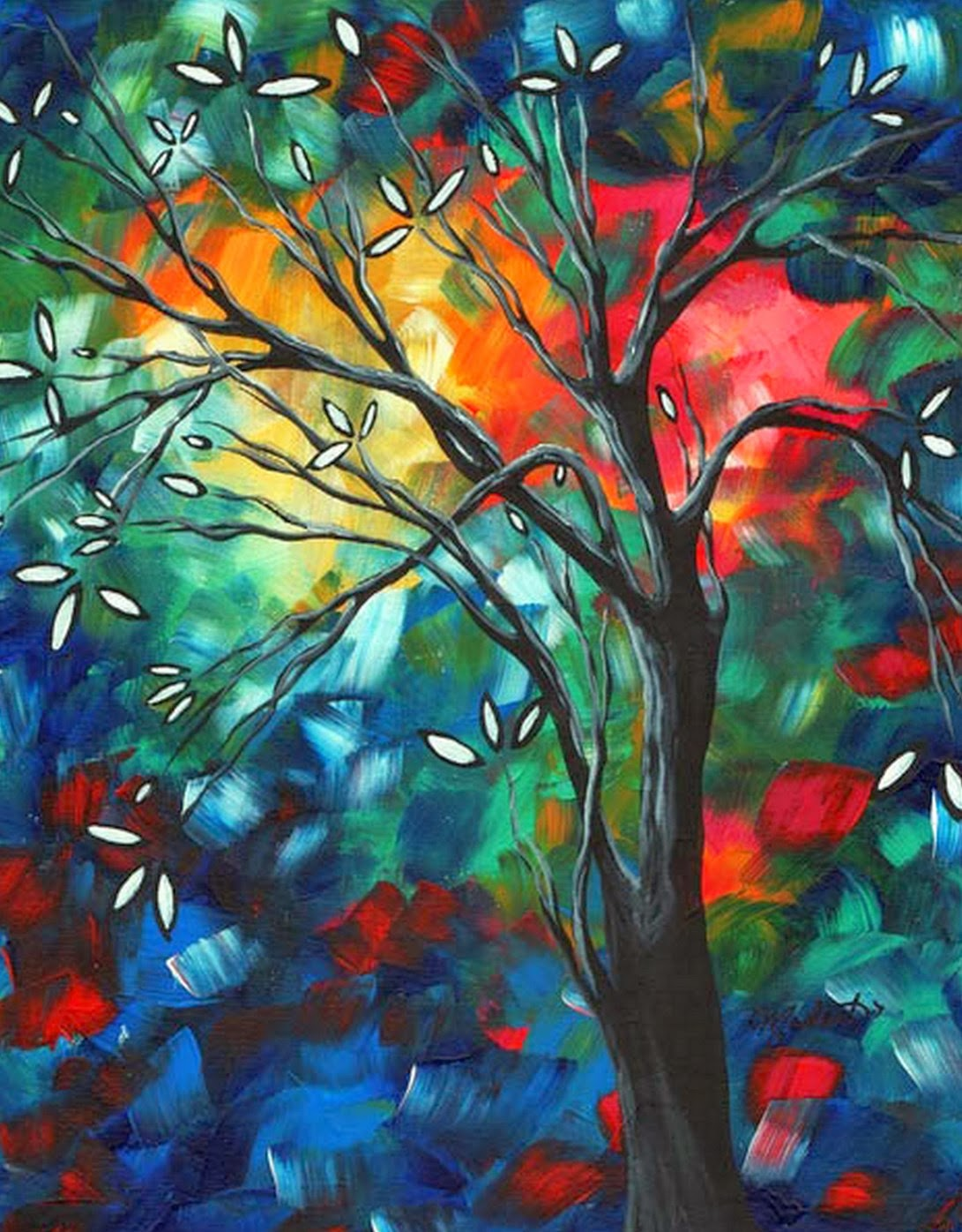 Cuadros modernos pinturas y dibujos abstractos - Fotos cuadros modernos ...