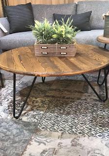 הגלריה המקסיקנית המקום לעיצוב הבית - שולחן סלון בומבי עגול