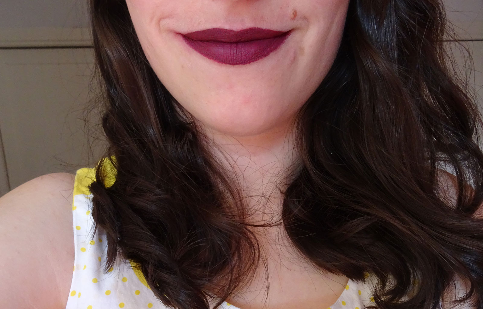 Longstay Liquid Matte Lipstick Cookie's Make Up swatches 5 sorbet cassis