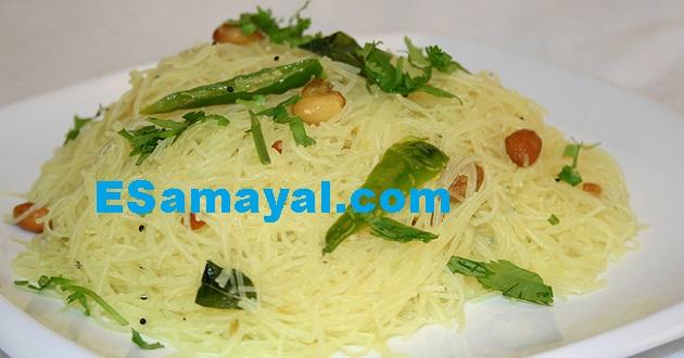 ரைஸ் ஸ்டிக்ஸ் உப்புமா செய்முறை | Rice Sticks Uppuma Recipe !