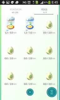 Pokemon go menetaskan telur