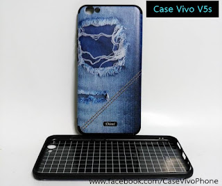 Case Vivo V5s ลายยีนส์