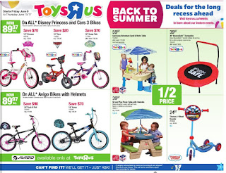Toys R Us Flyer Out Door & Play valid June 9 - 15, 2017