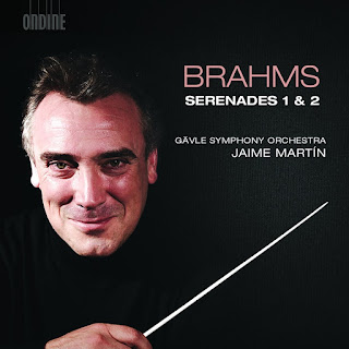 Brahms Serenades - Gävle Symphony Orchestra, Jaime Martin - Ondine