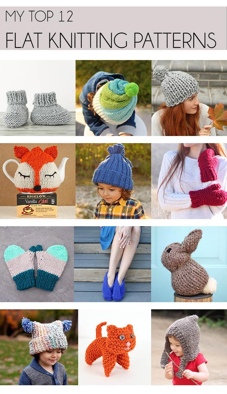 Flat Knit Free Knitting Patterns