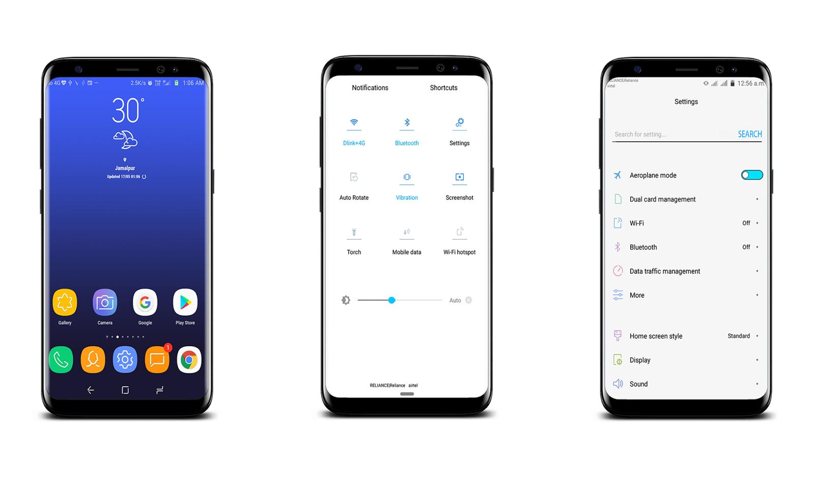 Samsung S8 Experience | EMUI 4/4 1 - Emui Themes