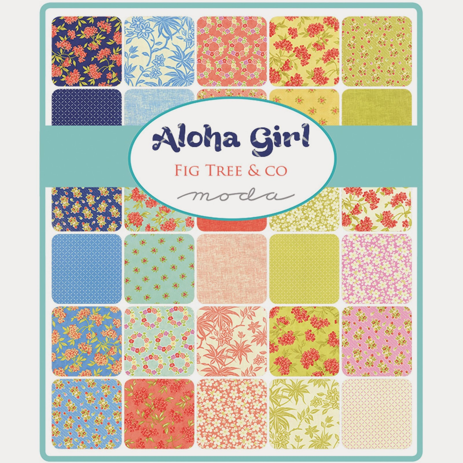 Moda ALOHA GIRL Fabric by Fig Tree Quilts for Moda Fabrics
