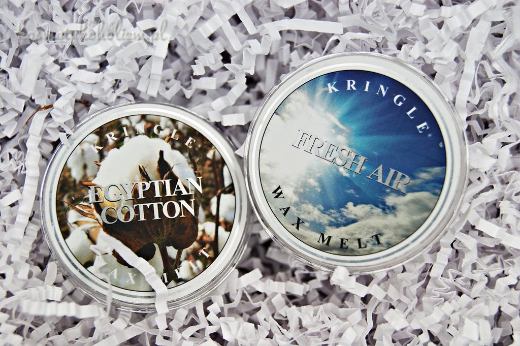 Kringle Candle | Fresh Air, Egyptian Cotton | Świecowa Niedziela