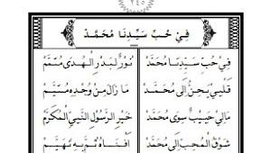 Lengkap Bacaan Maulid Nabi Beserta Doanya