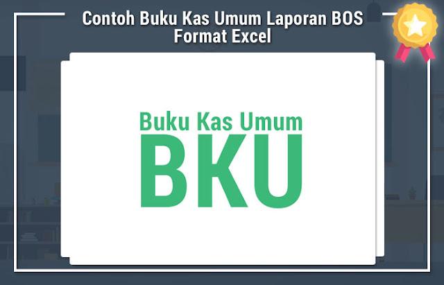 Contoh Buku Kas Umum Laporan BOS Format Excel