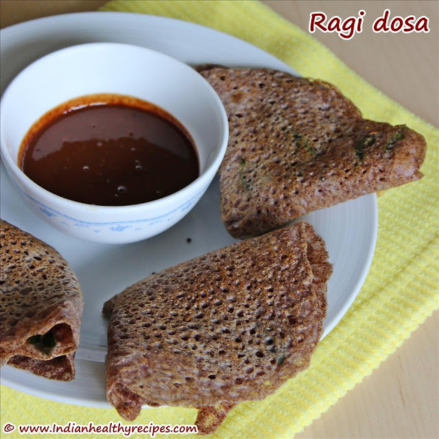 Ragi Dosa, How To Make Ragi Dosa