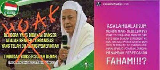 Nama Abahnya Dicatut Kelompok Pro Bakar Bendera Tauhid, Putera Habib Lutfi Beri Peringatan