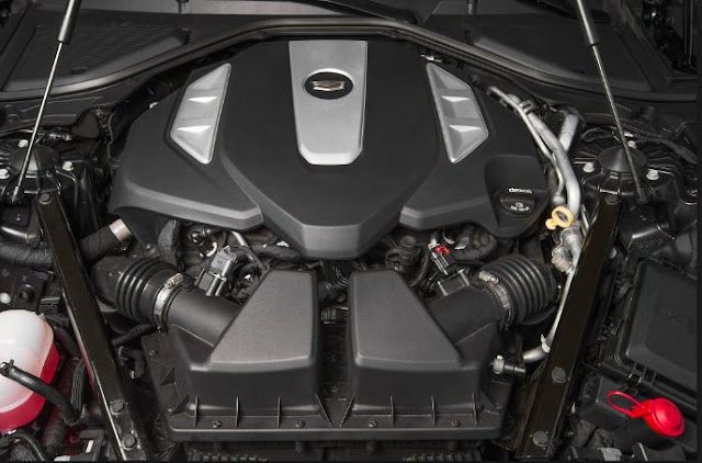 2016 Cadillac CT6 AWD Engine