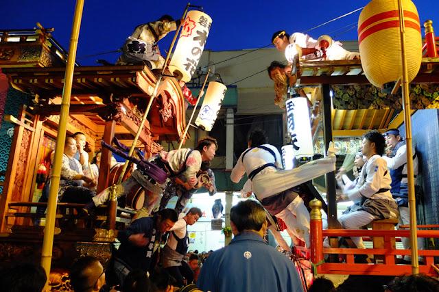 Fujinomiya Matsuri (float parade), Fujinomiya City, Shizuoka Pref.