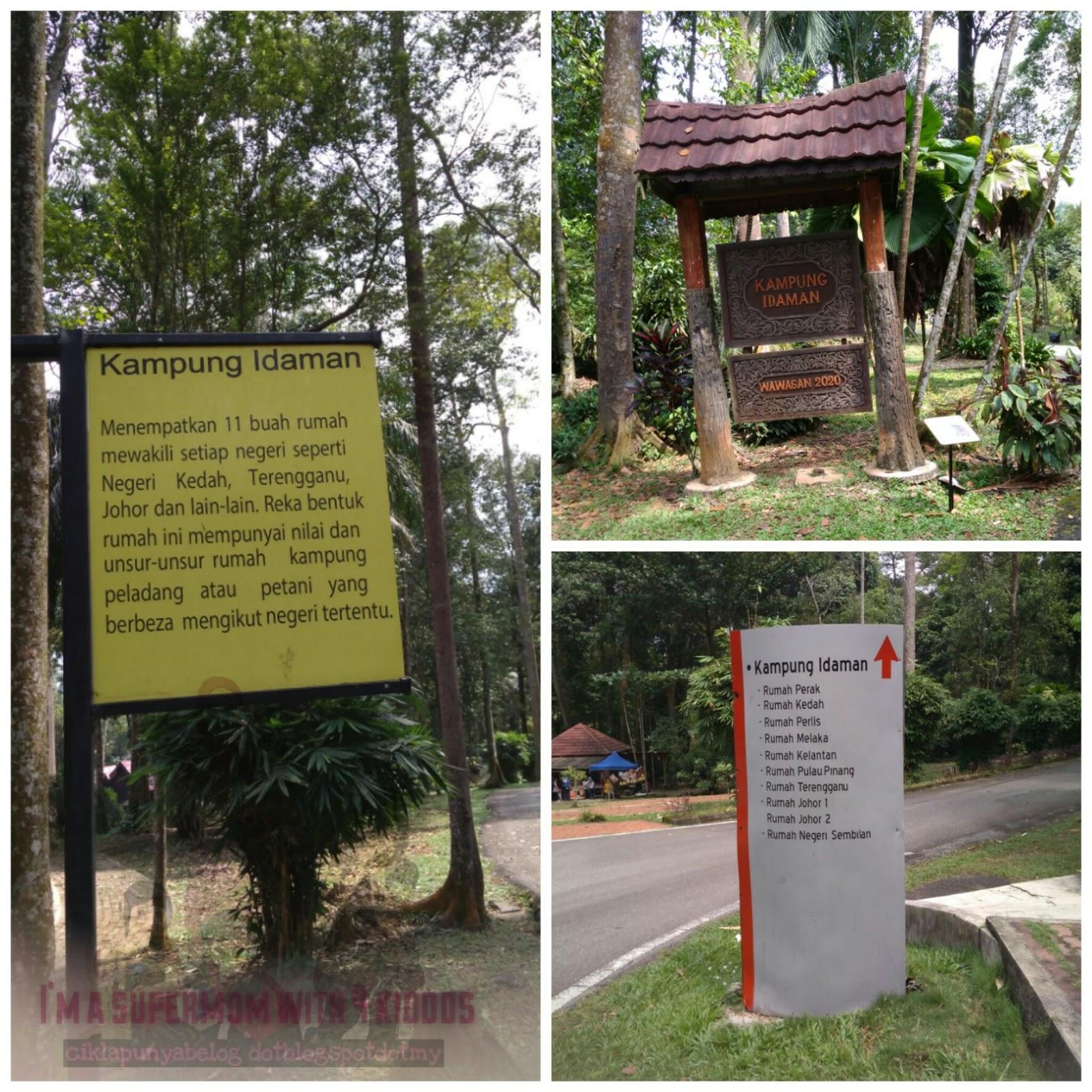 [Entri Bergambar] Jalan-jalan membakar lemak di Taman Botani Negara, Shah Alam.
