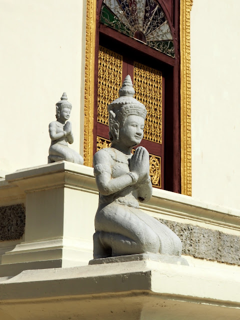 Buddha statues, Phnom Penh, Cambodia