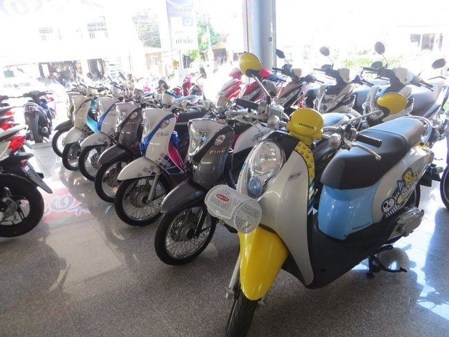 Скутеры классика Таиланд