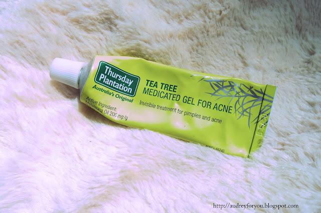 Life With Audrey Thursday Plantation Tea Tree Gel
