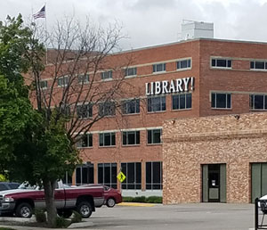 Facade of the Boise Public Library