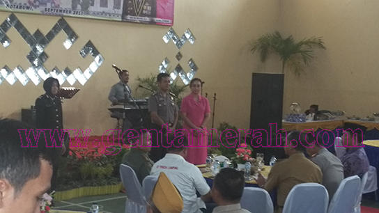 Jabatan Kapolres Lampung Utara Diserahterimakan