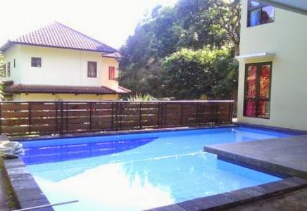 Villa disewakan ada kolam renang