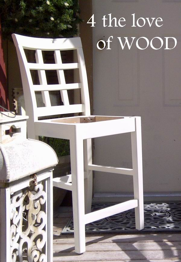 Pleasing 4 The Love Of Wood How To Paint Bar Stools Farmhouse Squirreltailoven Fun Painted Chair Ideas Images Squirreltailovenorg