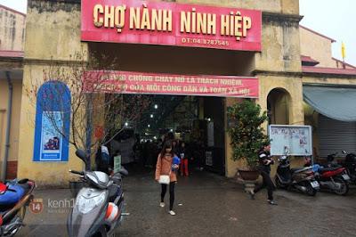 Giới thiệu về Chợ Ninh Hiệp - Gia Lâm - Hà Nội